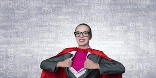 Pour être force superbe de prises de femme Photographie stock libre de droits