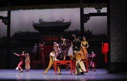 Pour assister à l'acte d'invités-Le de mariage d'abord des événements de drame-Shawan de danse du passé Photographie stock