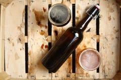 Pour cent de bière Photographie stock
