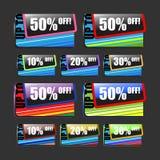 Pour cent de vente Photo stock