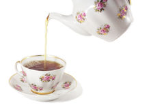 Pour a cuppa Stock Images