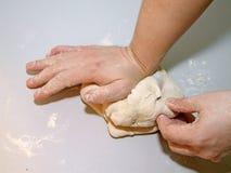 Pour faire la pâte Image stock