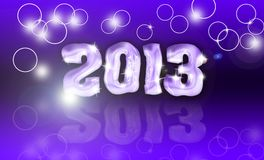 Pour feliciter 2013 Royalty Free Stock Photo
