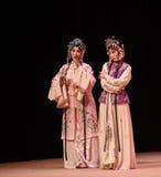 """Pour indiquer le  occidental de Chamber†d'""""the d'opéra de la maladie-Kunqu de s de Yingying de coeur-Cui ' Image libre de droits"""