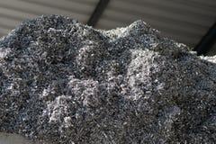 Pour la réutilisation de l'aluminium Photographie stock libre de droits