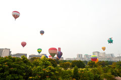 5ème Fiesta chaude internationale 2013 de ballon à air de Putrajaya Images libres de droits