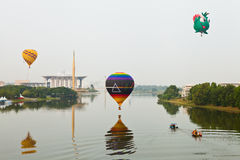 5ème Fiesta chaude internationale 2013 de ballon à air de Putrajaya Photographie stock