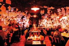 Pour le bar de vente, Budapest, HONGRIE photo stock