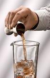 Pour liquid Stock Images
