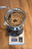 Pour-over coffee Royalty Free Stock Images