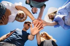Pour toujours amitié Images libres de droits