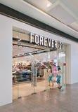 Pour toujours 21 débouché, centre commercial de Livat, Pékin, Chine Photographie stock libre de droits
