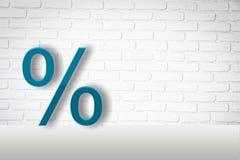 pourcentage photographie stock