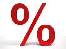 Pourcentage Image libre de droits