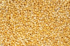 Poured dry pea Stock Photo