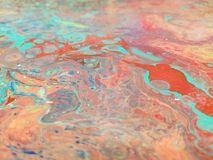 Poured Paint royalty free stock images