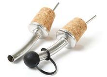 Pourers που χρησιμοποιείται ή στη βασική ράβδο Στοκ εικόνες με δικαίωμα ελεύθερης χρήσης