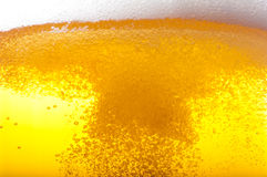 Pouring beer. Pouring beer into a mug Royalty Free Stock Photography