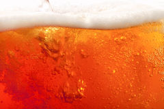 Pouring beer. super large background Stock Photo