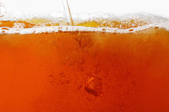 Pouring beer. super large background Royalty Free Stock Photos