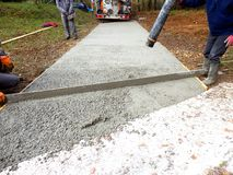 Free Pouring Cement Stock Photography - 132522892