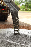 Pouring cement Stock Images