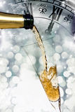 Pouring champagne Royalty Free Stock Photo