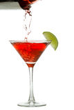 Pouring a cosmo Royalty Free Stock Photos