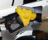 Pouring gasoline Stock Photos