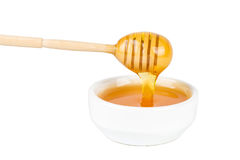 Pouring Honey Royalty Free Stock Photos