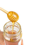 Pouring Honey Royalty Free Stock Photo
