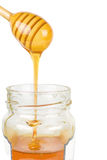 Pouring Honey Royalty Free Stock Image
