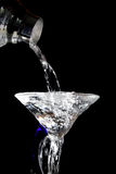 Pouring a martini Stock Images