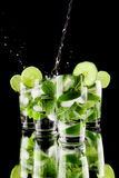 Pouring mojito Stock Photography