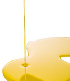 Pouring Olive Oil On Surface VII. Pouring olive oil on white surface Stock Photography