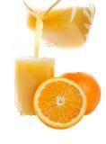 Pouring Orange Juice Royalty Free Stock Image