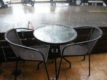 Pouring rain Royalty Free Stock Photos