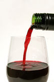 Pouring A Red 2 Stock Photos
