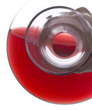 Pouring Red Wine from a Decanter Royalty Free Stock Images