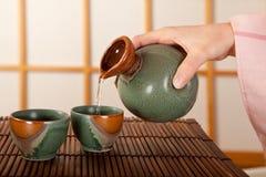 Free Pouring Sake Royalty Free Stock Photo - 13191885
