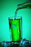 Pouring Soda Royalty Free Stock Photo