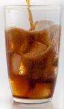 Pouring soda Stock Photos