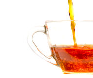 Pouring  tea Royalty Free Stock Photo