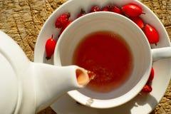 Pouring Tea Cup Stock Photos