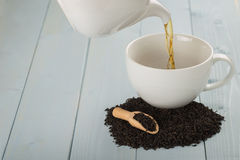 Pouring Tea Royalty Free Stock Photos
