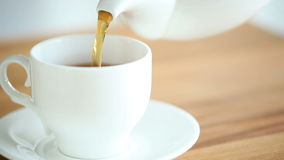 Pouring Tea stock footage