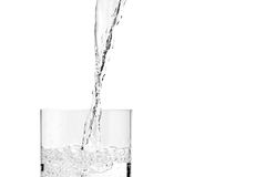 Pouring water Royalty Free Stock Photos