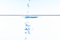 Pouring Water Royalty Free Stock Image