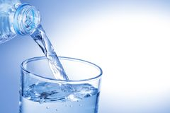 Pouring water Royalty Free Stock Photography