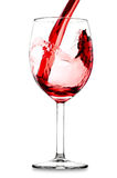 Pouring wine Royalty Free Stock Photography